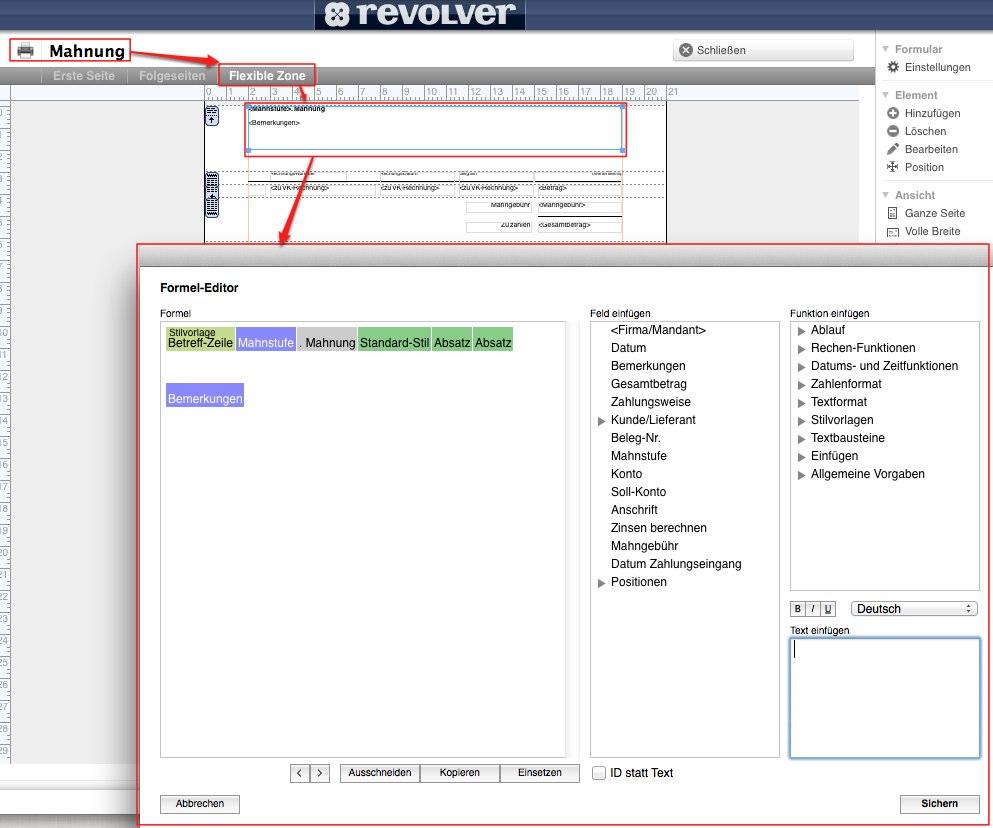 Zahlungserinnerung Statt 1 Mahnung Revolver Forum Und Onlinehilfe